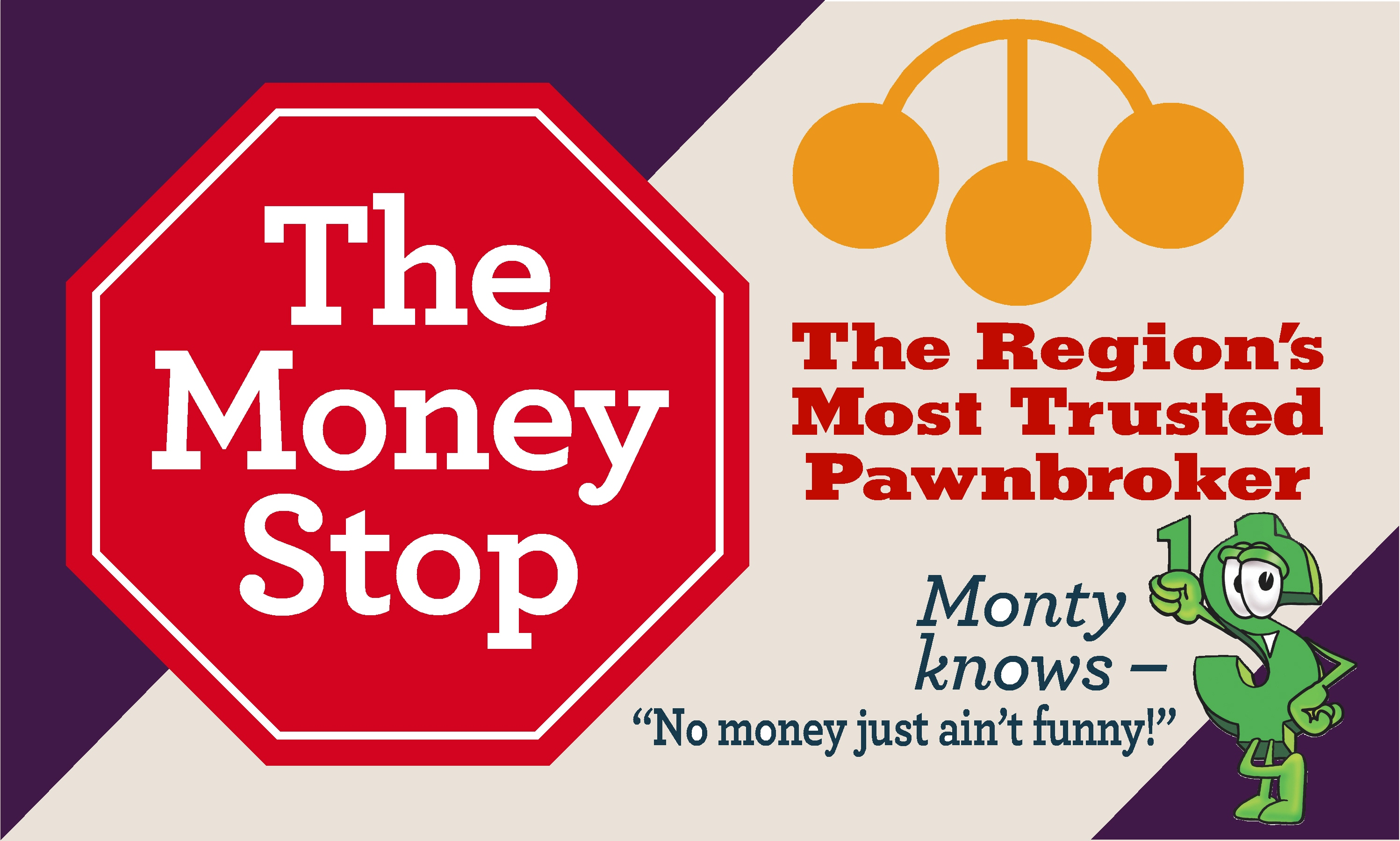 The Money Stop Poster